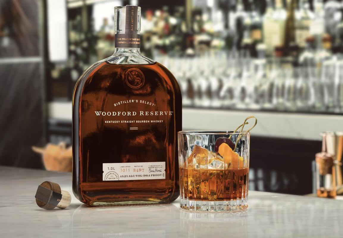 Image décrivant le produit Woodford Reserve qui fait partie des Whiskies