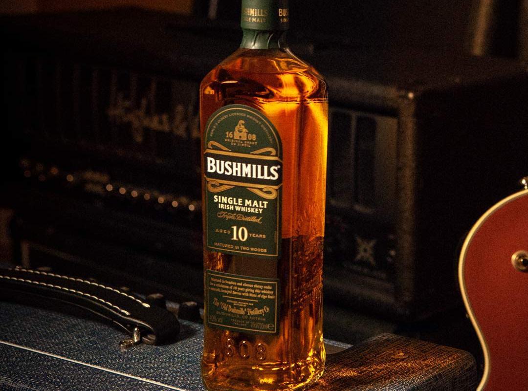 Image décrivant le produit Bushmills 10 ans qui fait partie des Whiskies