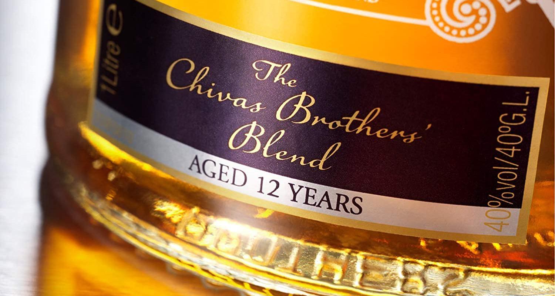 Image représentant le produit Chivas 12 ans en grand format, pour mieux voir le produit.