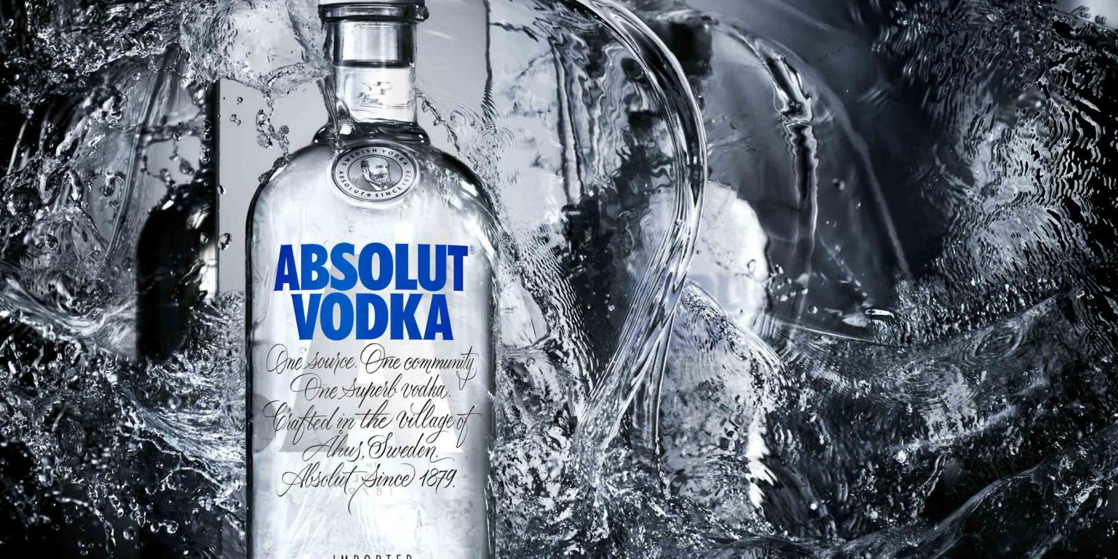 Image décrivant le produit Absolut qui fait partie des Vodkas