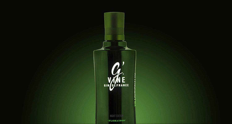 Image décrivant le produit G'Vine qui fait partie des Gins