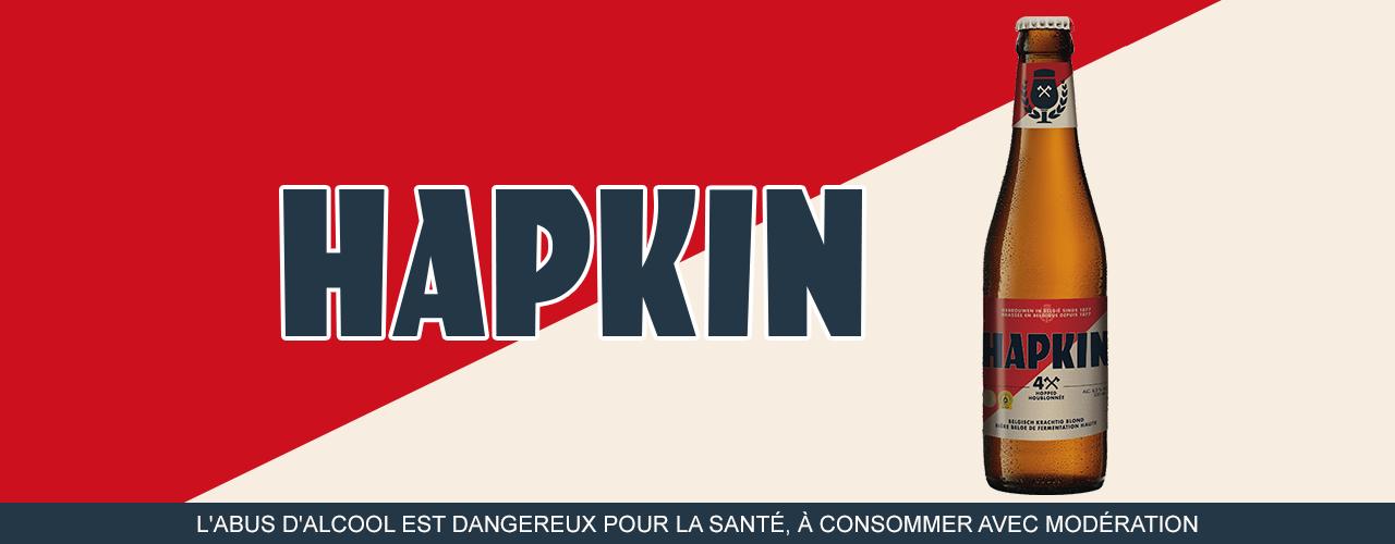 Image décrivant le produit Hapkin 33cl qui fait partie des Bières Pression