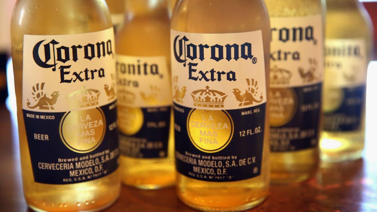 Image décrivant le produit Corona qui fait partie des Bières Bouteilles