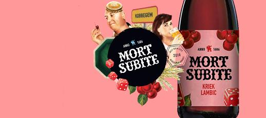 Image décrivant le produit Mort Subite Kriek qui fait partie des Bières Bouteilles