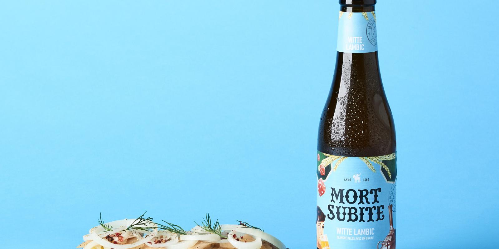 Image décrivant le produit Mort Subite Witte qui fait partie des Bières Bouteilles