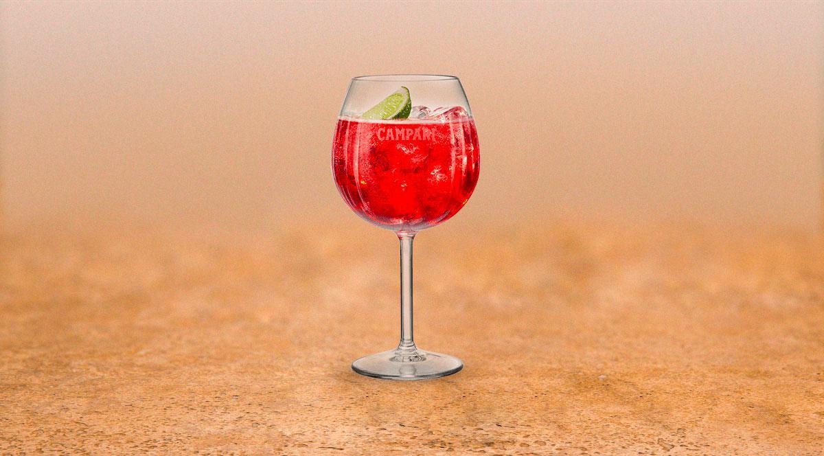 Image représentant le produit Campari en grand format, pour mieux voir le produit.