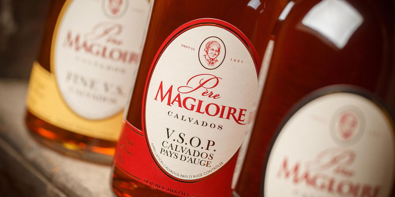 Image décrivant le produit Calvados Père-Magloire v.s.o.p qui fait partie des Digestifs