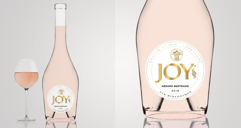 """Image décrivant le produit AOP Languedoc """" JOY """" 12cl qui fait partie des Vins Rosé"""