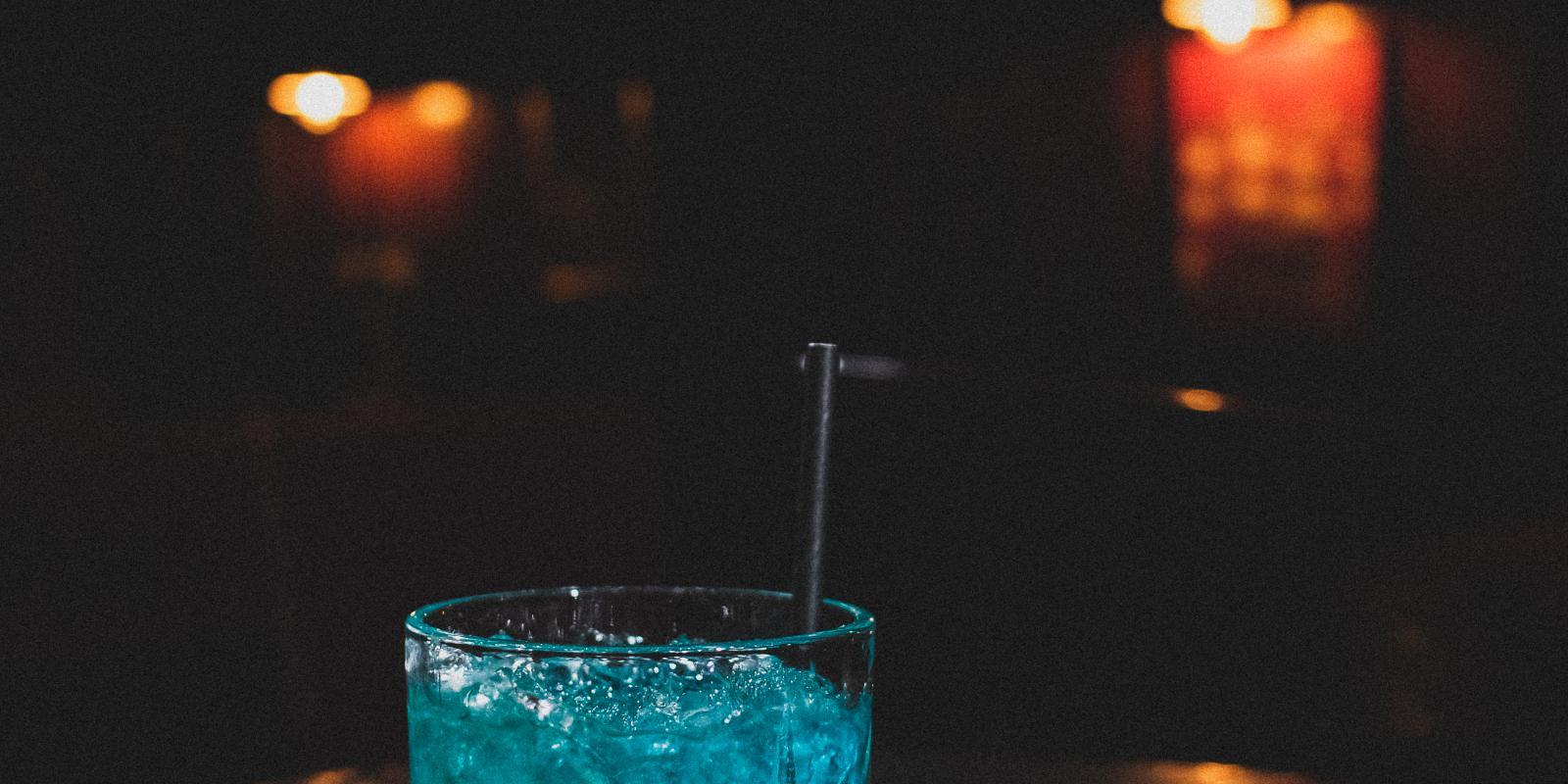 Image décrivant le produit Blue 58 qui fait partie des Cocktails