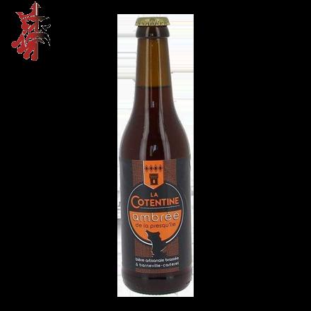 Image illustrant le produit Cotentine Ambrée, un produit de qualité qui fait partie des Bières Bouteilles