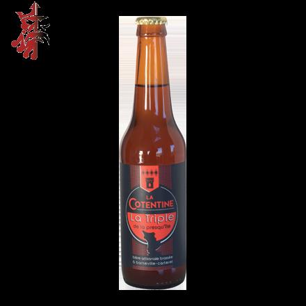 Image illustrant le produit Cotentine Triple, un produit de qualité qui fait partie des Bières Bouteilles
