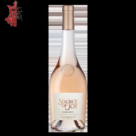 """Image illustrant le produit AOP Languedoc """" JOY """" 75cl, un produit de qualité qui fait partie des Vins Rosé"""