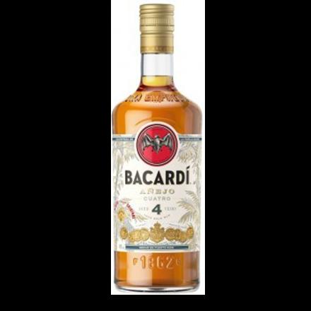 Image du packaging du produit Bacardi 4 ans (Anejo Cuatro)