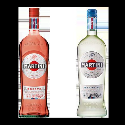 Image du packaging du produit Martini Bianco / Rosato