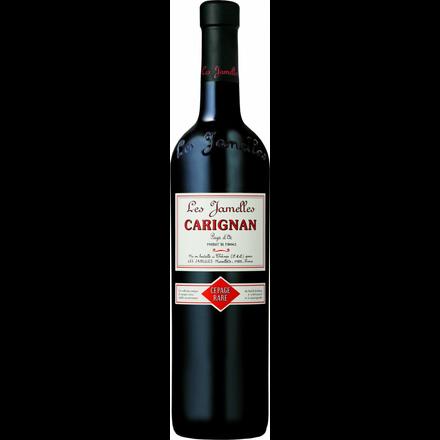 """Image du packaging du produit IGP Pays d'Oc Les Jamelles """"Carignan"""" 12cl"""